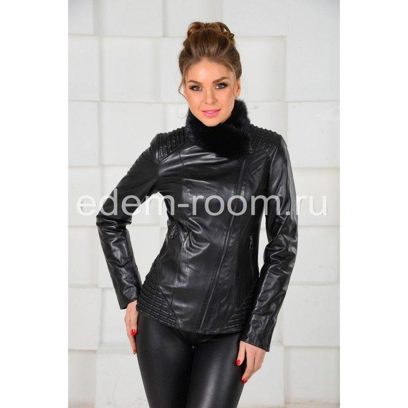 Цена на Межсезонную кожаную куртку - 2015 в Москве