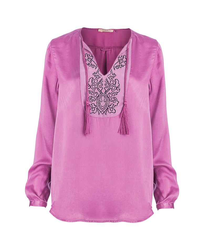 Туника шелковая - интернет-магазин дизайнерской женской одежды из натуральных тканей Sack's