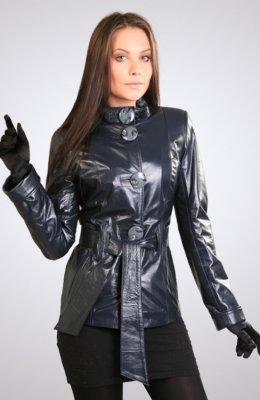 Женская кожаная куртка КЖ-334