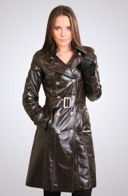 Женская кожаная куртка ПЖ-321
