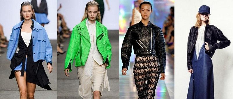 Женские куртки на весну и осень-2015