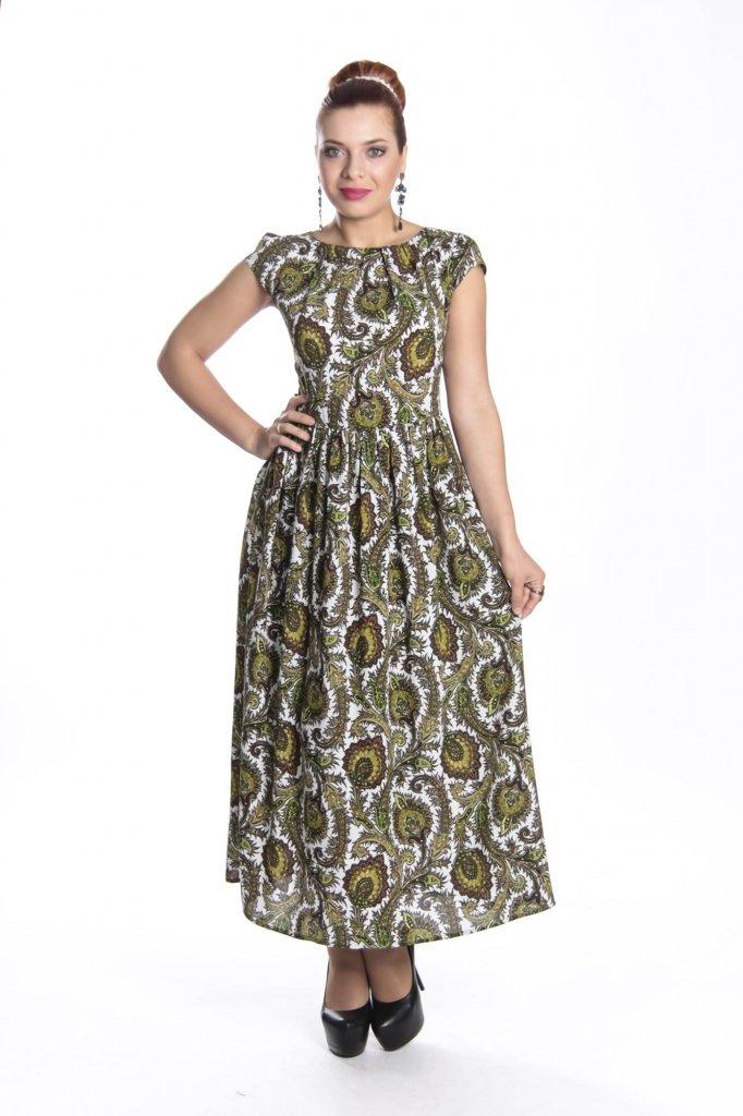 Женственное длинное платье, купить недорого макси-платье для лета