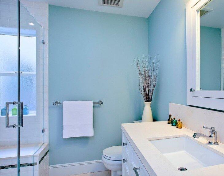 Покраска стен в ванной комнате отзывы