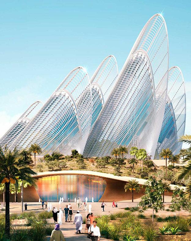 Национальный музей имени шейха Заида. ОАЭ