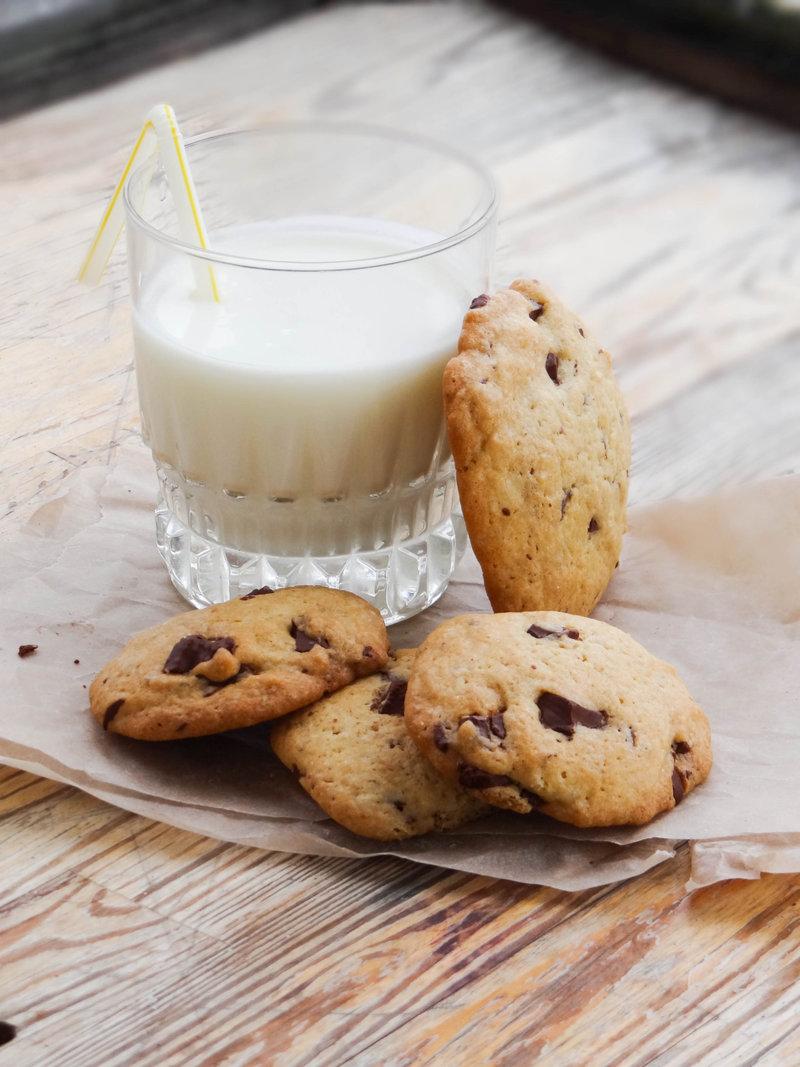 Печенье кукис с шоколадом