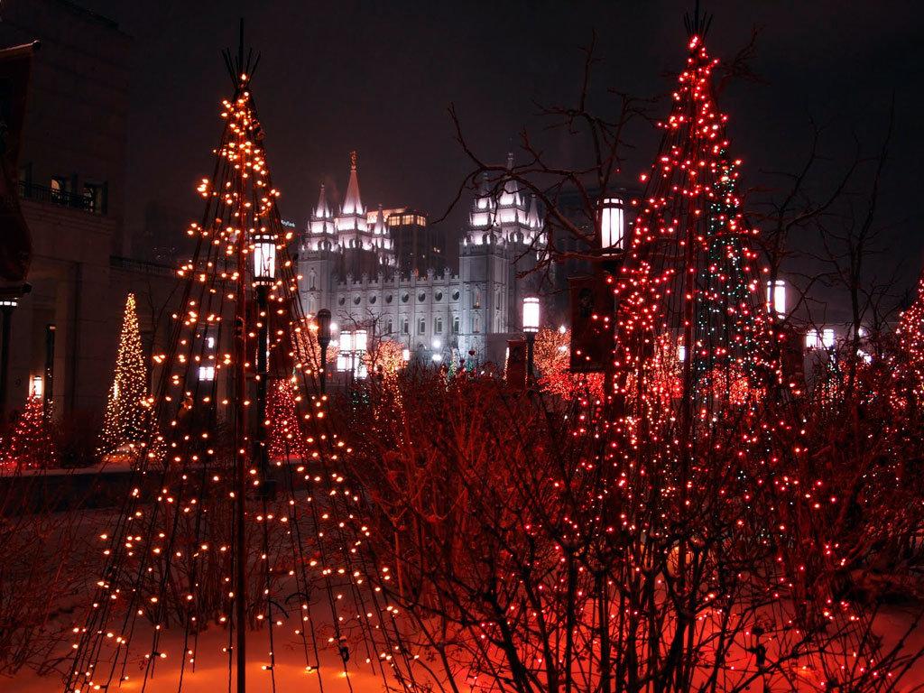 простилась рождественский город картинки забота