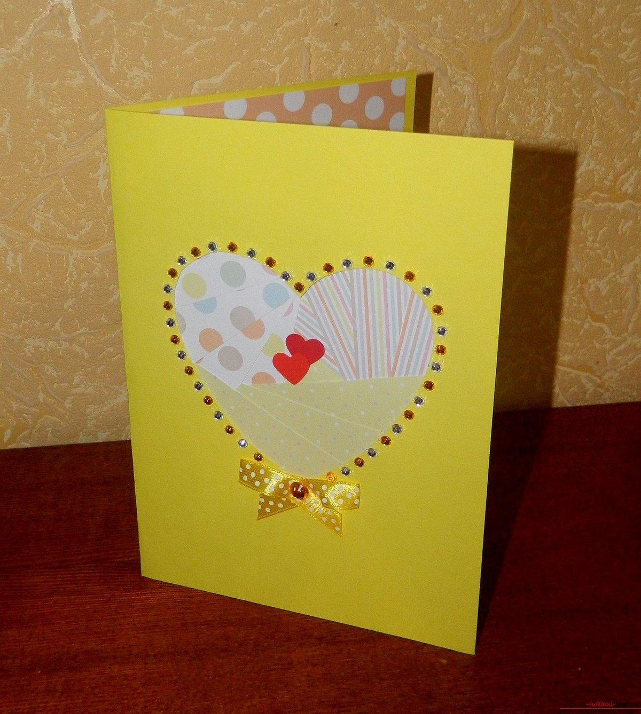 Простые открытка своими руками, рождения