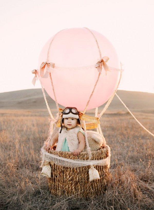отряд воздушный шар с корзиной для фотосессии мезгилдерге чейин эле