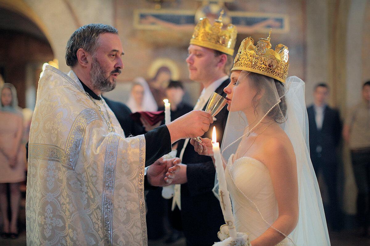 Венчание в россии правила