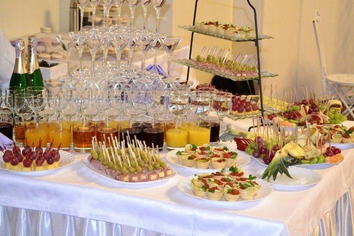 Украшение стола на выкуп невесты своими руками