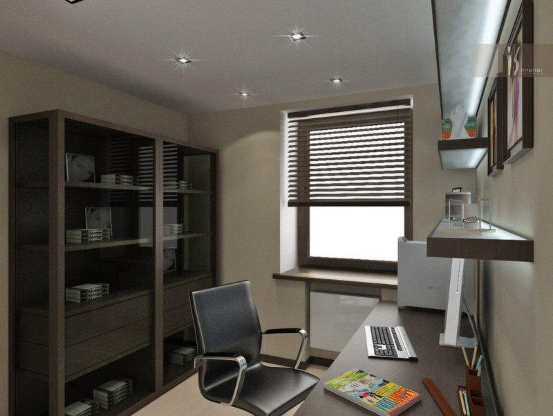 Для создания хороших условий в рабочем кабинете, необходимо уделить внимание освещенности комнаты.