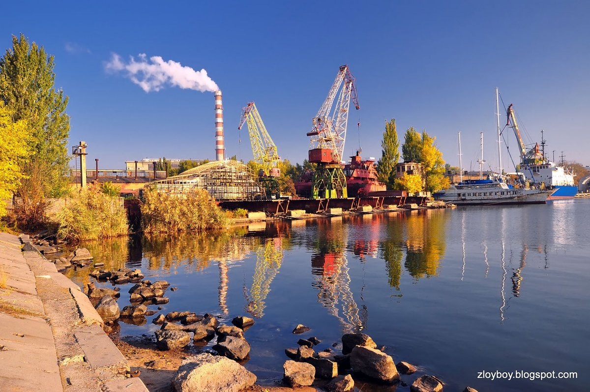 Николаев город фото растворяет