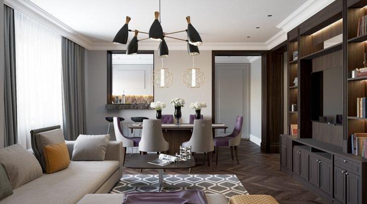 Дизайн зала  помещения в самых смелых решениях.