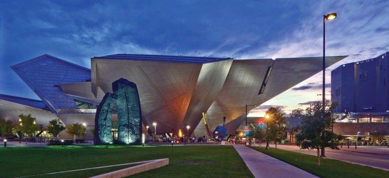 Денверский музей искусств – самый большой на Западе США.