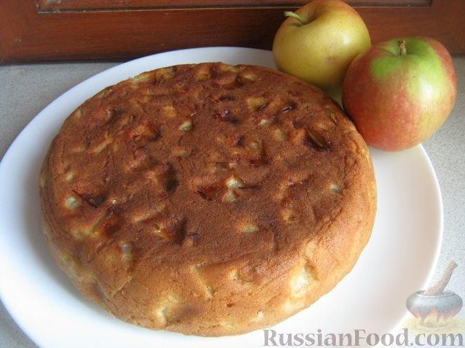 как приготовить бисквит с яблоками в домашних условиях костюм