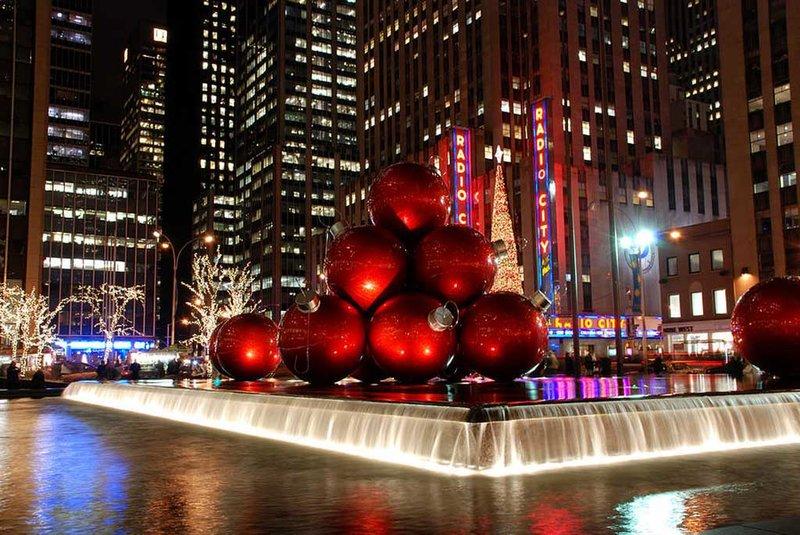 Нью-Йорк. Достопримечательности на Новый год