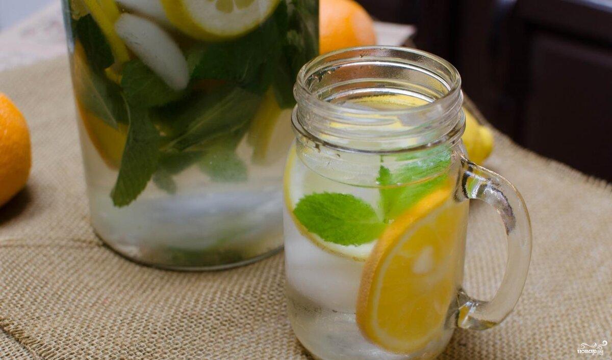 Лимонка с водой для похудения фото