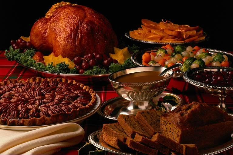 thanksgiving food pictures - 768×512