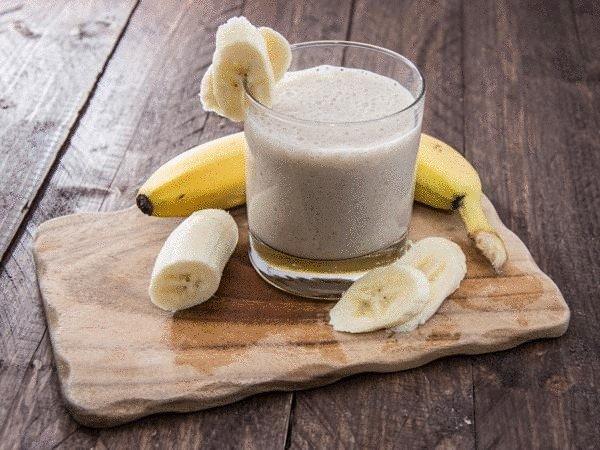 Бананово-имбирный смузи