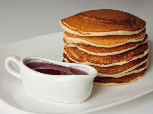 Блинчики на сливках по‑американски (pancakеs)