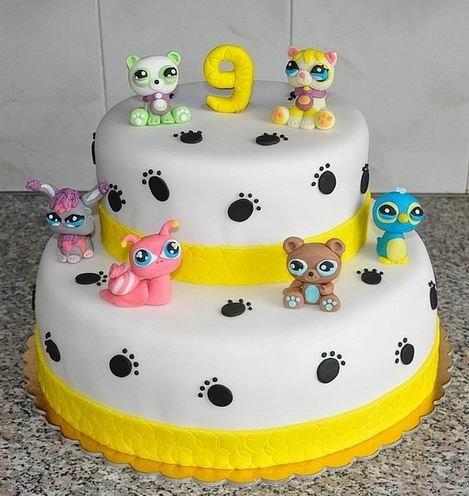 Чем украсить детский торт?