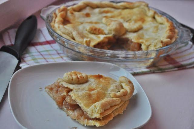 Food pour vous: American apple pie(Американский яблочный пирог)