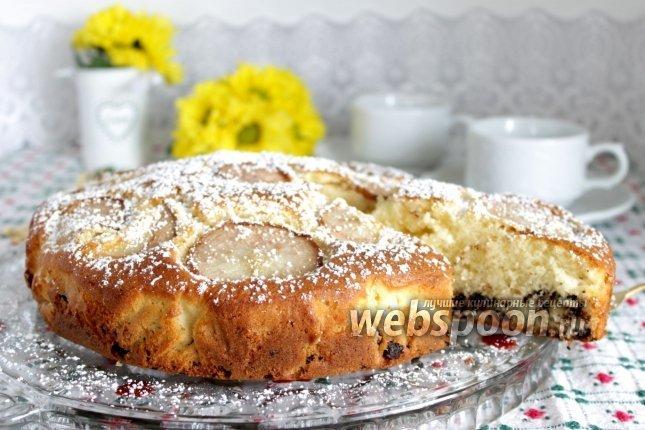 Фото Грушевый пирог по-итальянски