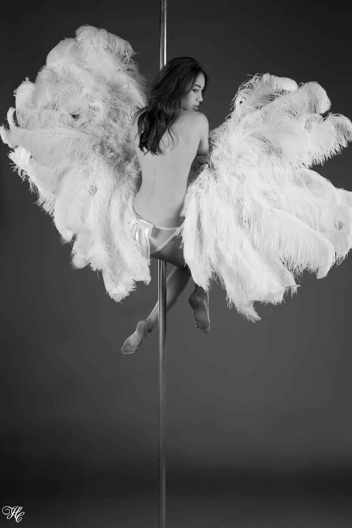 Pole Dance Photography Studio Sessions for Melody Pole Studio | Portrait Photographer Hong Kong | Paris