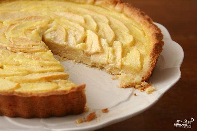 Рецепт: Эльзасский яблочный пирог