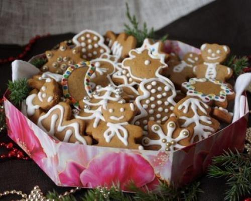 рецепт имбирного печенья с глазурью 1