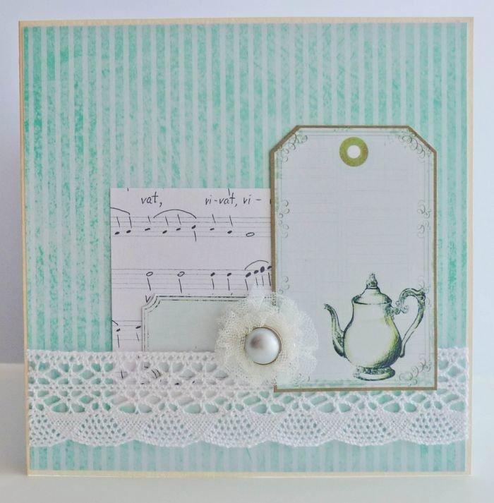 Скрапбукинг: открытка ручной работы - пошаговый мастер-класспо изготовлению открытки скрапбукинг