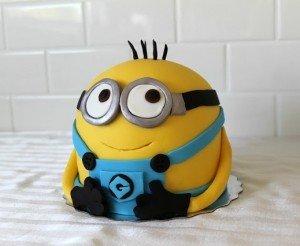 Торт Миньон из мастики своими руками