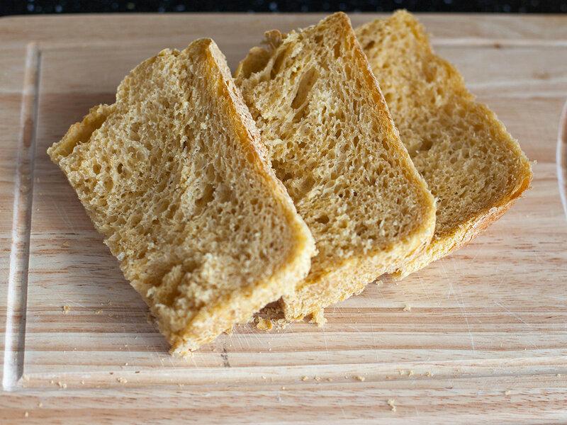 Тыквенный хлеб в хлебопечке • Видео-повар
