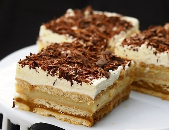 Ванильно-шоколадный пудинг