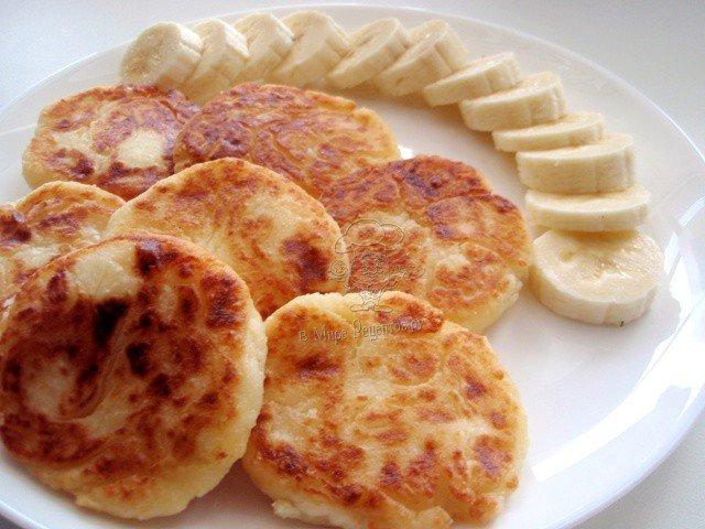 сырники с творогом пошаговый рецепт