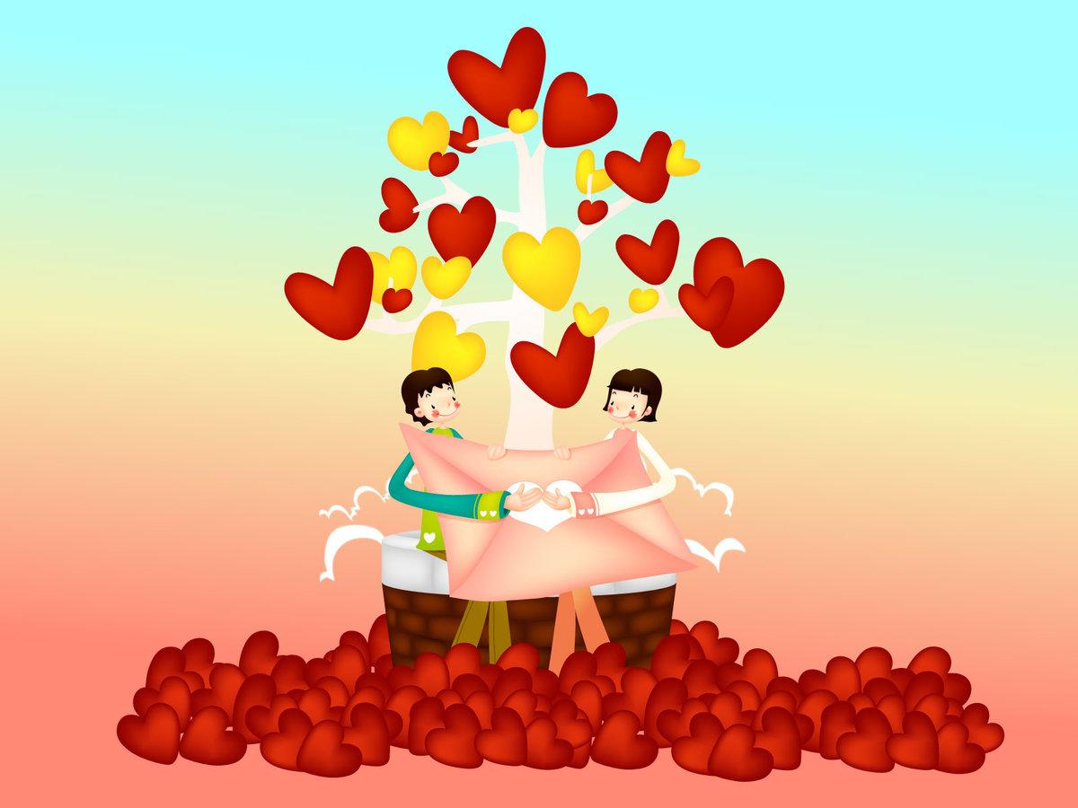 Праздник любви картинки, открытка