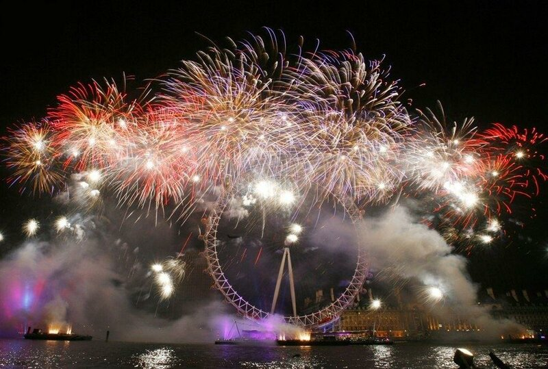 Новый год в лондоне картинки