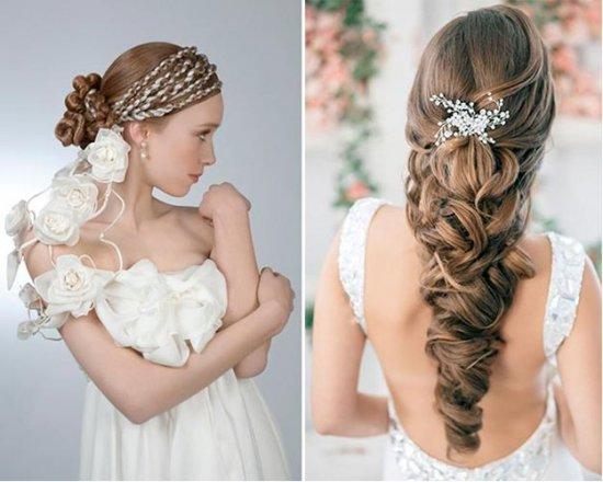 Прическа для длинных волосах в греческом стиле