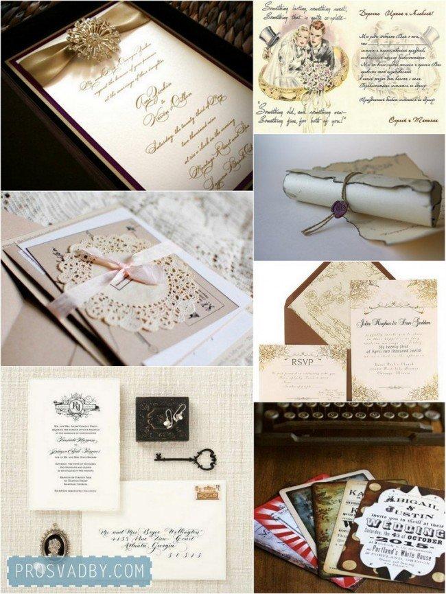Стильная винтажная свадьба (3)