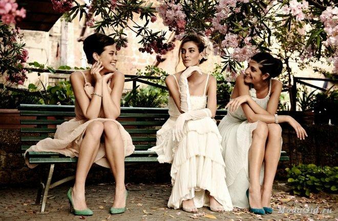 Свадебная мода: Модные платья для подружек невесты