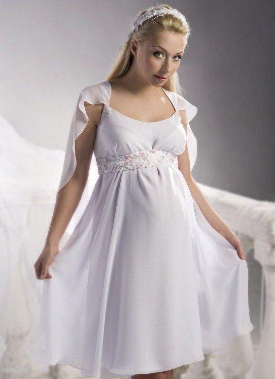Свадебные платья 2013 для беременных
