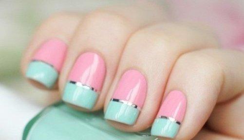 свадебный маникюр на короткие ногти фото.jpg15