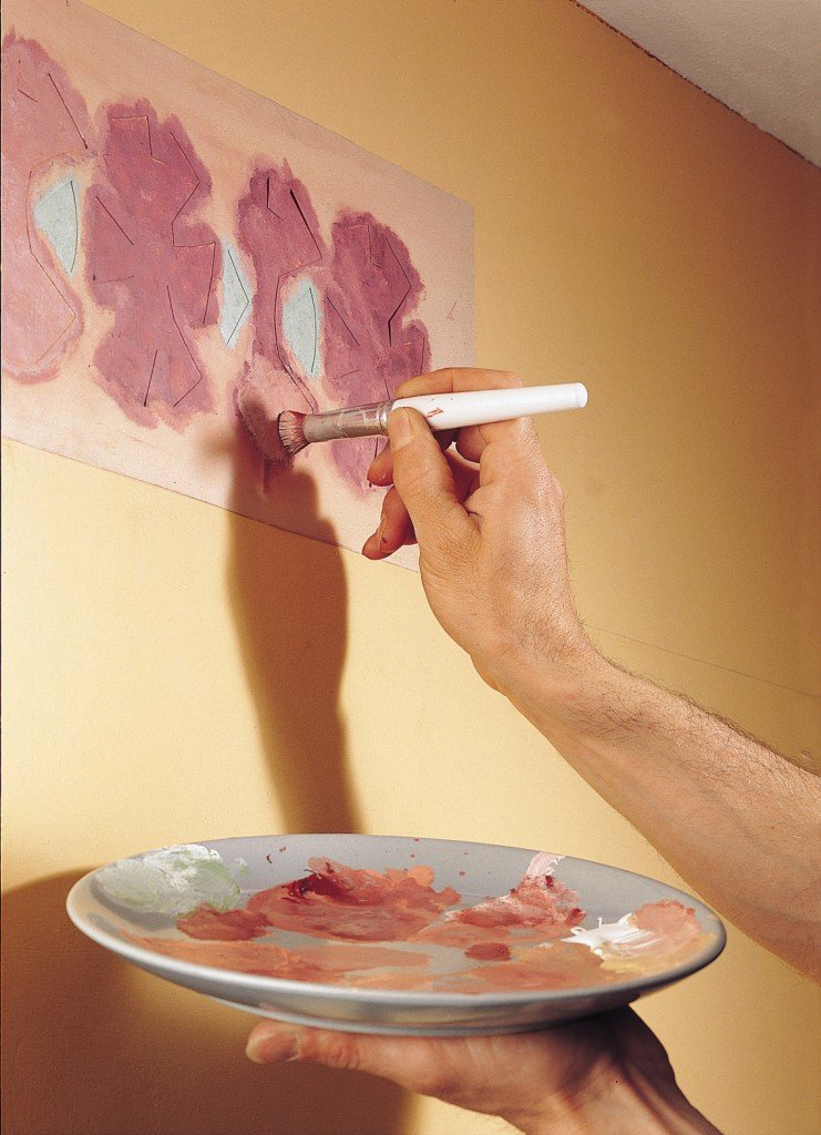эверсон декор стены краской своими руками фото гамма оказывает