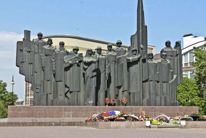 Площадь Победы Воронеж.