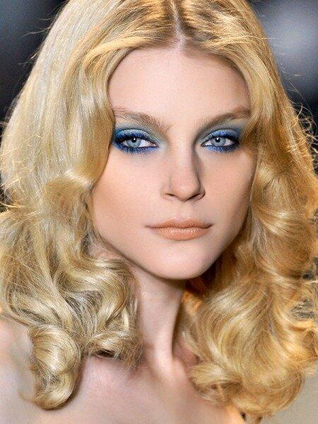 Секреты макияжа с синими тенями :: Fashion Stylist