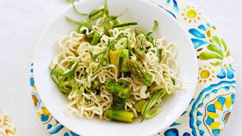 Салат с спаржей рецепт с фото