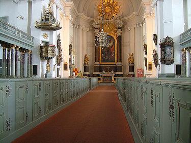 интерьер католического собора