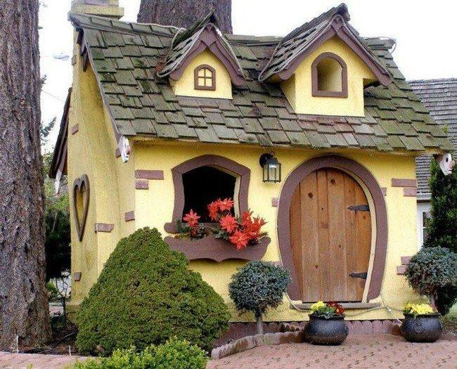 домик сказочный картинки