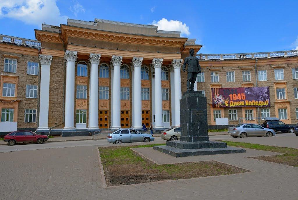 Дворец орджоникидзе в уфе