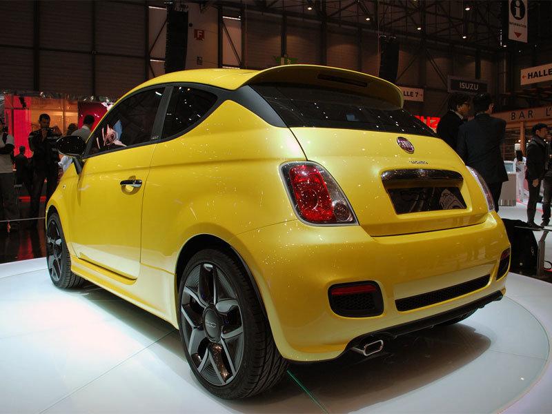 Концепт Fiat Zagato 500.